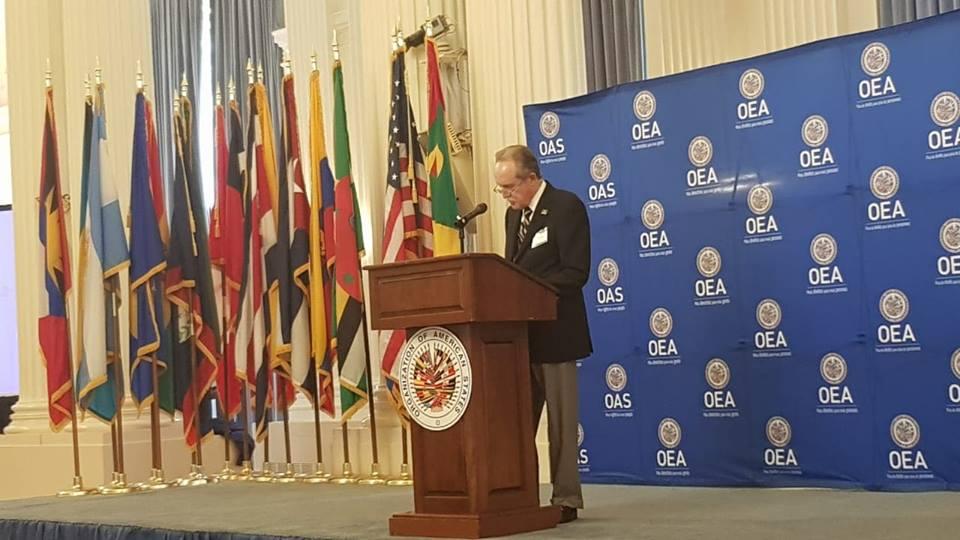 Intervención del Presidente de FELABAN en la Organización de Estados Americanos, OEA
