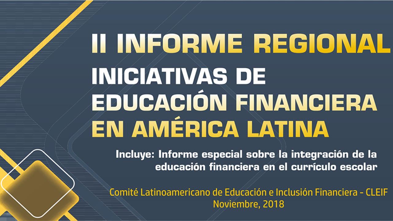 II Informe Regional de Educacion Financiera