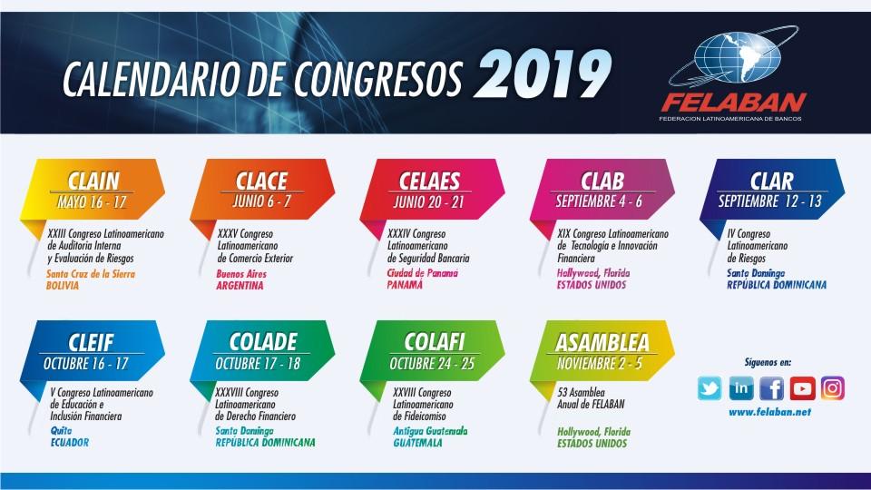 Conozca 8 razones para asistir a los congresos que ofrece FELABAN