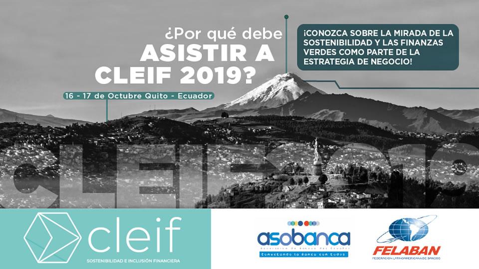 ¿Porque debe asistir a CLEIF 2019?